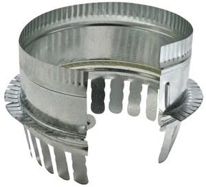 14 in. Galvanized Steel Starting Collar in Round Duct SHMCSTDBG14