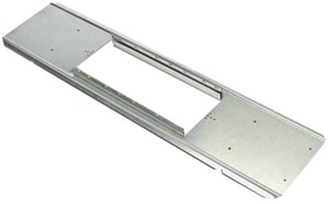 Royal Metal Products 24 in. 24 ga Boot Rail R100824