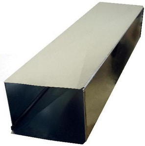 Snappy ADP 24 x 8 x 60 in. Galvanized Steel Duct Cleat SNA100245
