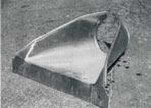 Contech Construction 18 in. Flared 16 ga Galvanized End Section CGMPFES1618