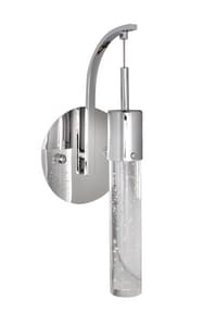ET2 Fizz IV 7.5W 1-Light G9 Wall Sconce in Polished Chrome EE2277091PC