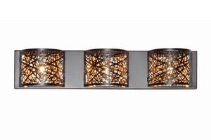 ET2 Inca 3-Light Vanity Light in Bronze EE2131610BZ