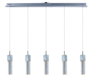 ET2 Fizz III 7.5W 5-Light LED Pendant in Polished Chrome EE2276489PC