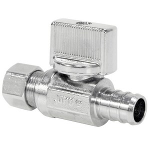 Nibco Pro-Stop® Lever Handle Straight Supply Stop Valve N7160LF