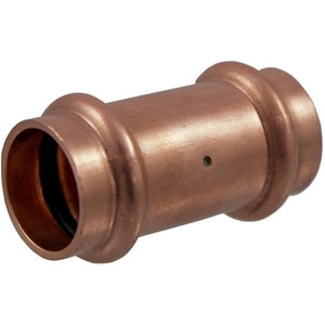NIBCO 2 in. Press Wrot Copper Coupling with Stop NPC600DSLDK