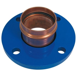 NIBCO 4 in. Press x Flanged Copper Flange NPC641P