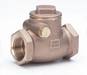 Milwaukee Valve 1-1/4 in. Bronze Threaded Check Valve M510T