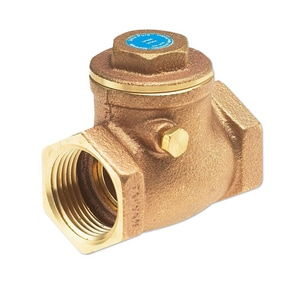 Milwaukee Valve Ultra Pure™ 1-1/4 in. Bronze Threaded Swing Check Valve MUP509H