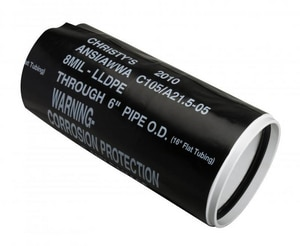 T. Christy Enterprises 400 ft. Roll Black Polyster Encase CWRP400B