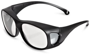 Jackson Safety Over-the-Glass Safety Glass with Black Frame J20748