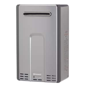 Rinnai HE+ Series 180 MBH Outdoor Non-condensing Propane Tankless Water Heater RRL75E