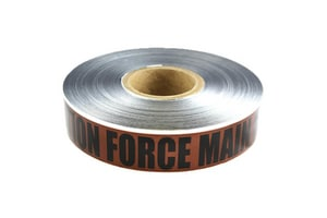 Presco 1000 ft. Force Main Detectable Underground Marking Tape PSD2105BR1051