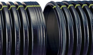 Advanced Drainage Systems 36 in. x 20 ft. HDPE Drainage Pipe A36850020IB
