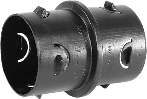 Advanced Drainage Systems N-12® 8 in. Snap Corrugated Straight HDPE Internal Single Wall Coupling A0815AA