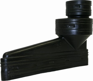 Advanced Drainage Systems Advanedge® 12 in. Inlet Straight HDPE End Outlet Coupling A1472AA
