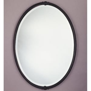 Murray Feiss Industries Boulevard 31 x 22 in. Mirror in Oil Rubbed Bronze MMR1044ORB