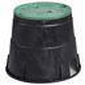 10 in. Round Irrigation Valve Box with Cover LIN319012