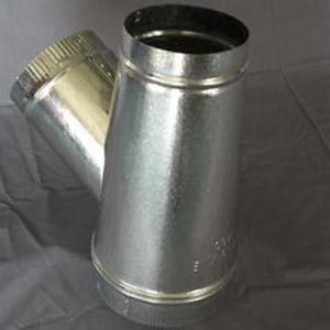 Cody Company 10 x 9 x 7 in. Galvanized Steel Duct Wye Branch COD80010YW