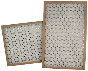 Glasfloss Industries 12 x 25 x 1 in. Polyester Air Filter GPTA12251
