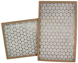 Glasfloss Industries PTA Series 18 x 30 x 1 in. Air Filter Fiberglass and Polystrand® MERV 5 GPTA18301