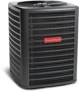Goodman GSZ13 Series 13 SEER Single-Stage R-410A 1/6 hp Heat Pump Condenser GGSZ131