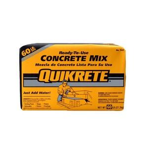 Quikrete 60 lbs. Concrete Mix Q110160