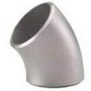 Weld Schedule 40 Long Radius Aluminum 90 Degree Elbow DAT64WLR9