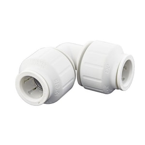 John Guest USA Speedfit® 1/2 in. CTS Straight Polypropylene and EPDM 90 Degree Bulk Elbow JPEI0320