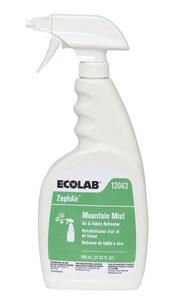 Ecolab ZephAir™ 32 oz. Mountain Mist Fabric Refresher (Case of 6) E6112043