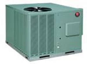Rheem RQPL Series Classic® 3 Tons 14 SEER R-410A Packaged Heat Pump RQPLB036JK015AKA