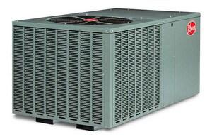 Rheem RQPM Series 2 Ton 14 SEER Horizontal R-410A Packaged Heat Pump RQPMA024JK000