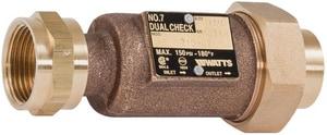 Watts Series LF7 1-1/4 in. Copper Silicon Alloy Female Threaded Check Valve WLF710U2GF