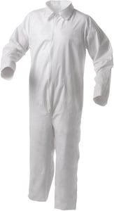 Kimberly Clark Zippered Coveralls 2XL 25/Case K38920 at Pollardwater