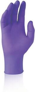 Kimberly Clark 100-Pack L Size 9-1/2 in. Safe Skin Nitrile Glove in Purple (Pack of 100) K5508