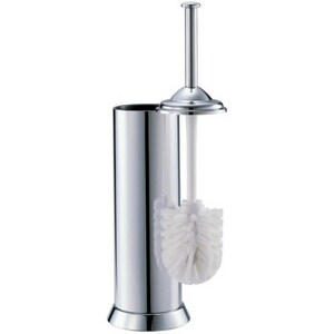 Gatco 16 in. Closet Brush Holder in Polished Chrome G1484