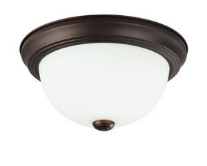Capital Lighting Fixture 15 in. 3-Light Ceiling Fixture in Burnished Bronze C2765BB