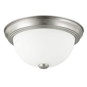 Capital Lighting Fixture 15 in. 3-Light Ceiling Fixture in Brushed Nickel C2765BN