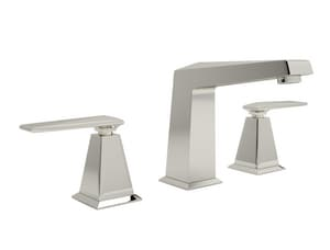 ROHL® Vincent Two Handle Widespread Bathroom Sink Faucet in Polished Nickel RA1008LVPN2