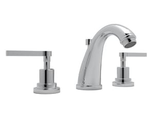 ROHL® Avanti Two Handle Widespread Bathroom Sink Faucet in Polished Chrome RA1208LMAPC2