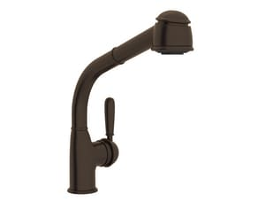 ROHL® 1983 Single Handle Pull Out Kitchen Faucet in Tuscan Bronze RR7903LMTCB