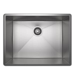 ROHL® Luxury® 22-1/2 x 17-1/4 in. Stainless Steel Single Bowl Undermount Kitchen Sink RRSS2115SB