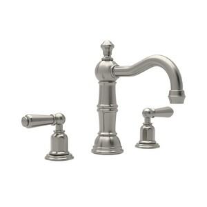 ROHL® Perrin & Rowe® Two Handle Bathroom Sink Faucet in Satin Nickel RU3720LSTN2