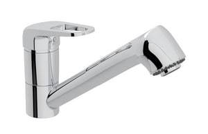 ROHL® Aquariva Single Handle Pull Out Kitchen Faucet in Polished Chrome RPPC257UAPC2