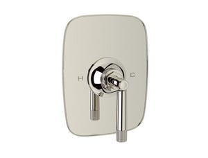 ROHL® Michael Berman Graceline™ 8-1/4 in. Pressure Balance Trim with Single Lever Handle in Polished Nickel RMB2038LM