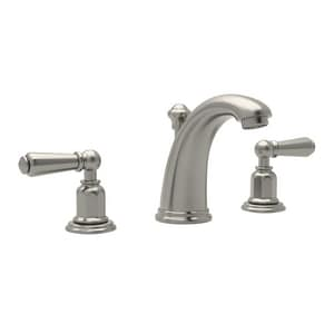 ROHL® Perrin & Rowe® Two Handle Bathroom Sink Faucet in Satin Nickel RU3760LSTN2