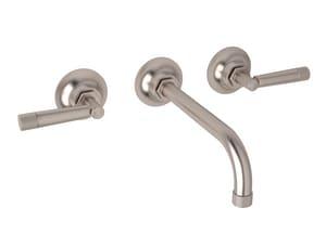 ROHL® Michael Berman Graceline™ Two Handle Bathroom Sink Faucet in Satin Nickel RMB2030LMSTN2