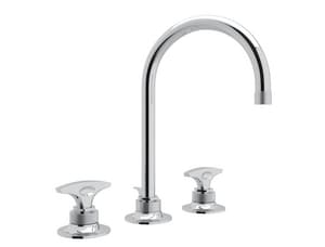 ROHL® Michael Berman Two Handle Bathroom Sink Faucet in Polished Chrome RMB2019DM2
