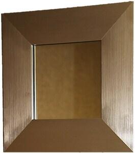 Venture Circle Kensington Three 36 x 30 in. Frame Mirror with Vandal Resistant Hardware in Satin Nickel VFRK3N3036SSTR