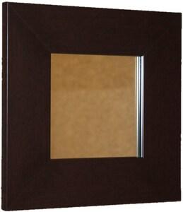 Venture Circle Kensington Three 36 x 30 in. Frame Beveled Mirror with Vandal Resistant Hardware in Espresso VFRK3N3036ESWBTR