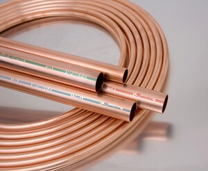 2 in. x 10 ft. Hard Type K Cleaned and Capped Copper Tube KCCAPK10